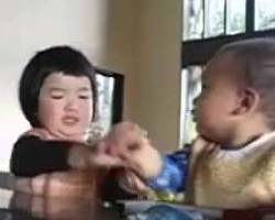 Don't Touch Me!  Funny Baby  Video 1 billion likes